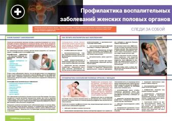 Санбюллетень  Профилактика воспалительных заболеваний женских половых органов