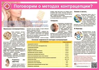 Санбюллетень Поговорим о методах контрацепции?