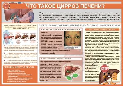 Санбюллетень Что такое цирроз печени?