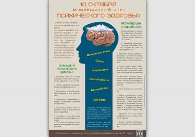 Санбюллетень 10 октября День психического здоровья