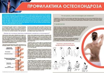 Санбюллетень Профилактика остеохондроза